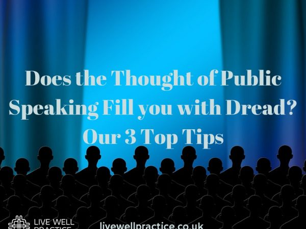 Does the Thought of Public Speaking Fill you with Dread - Our 3 Top Tips