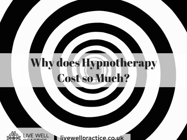 Why does Hypnotherapy Cost so Much