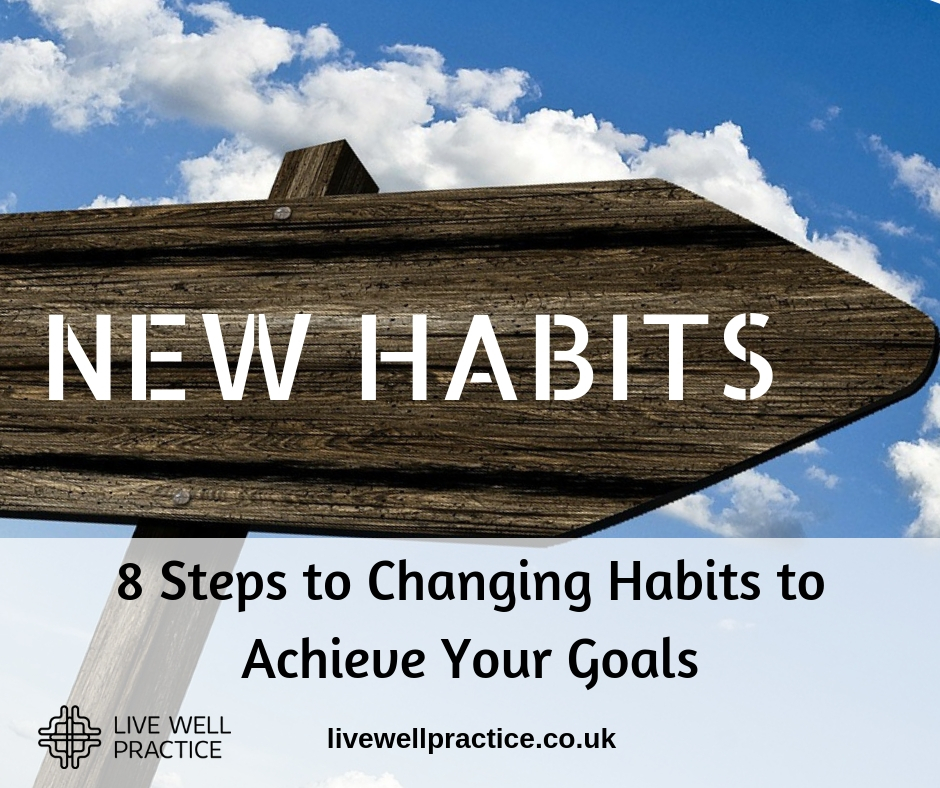 8 Steps to Changing Habits to Achieve Your Goals
