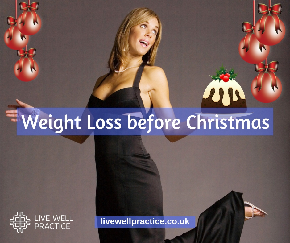 lose weight before Christmas
