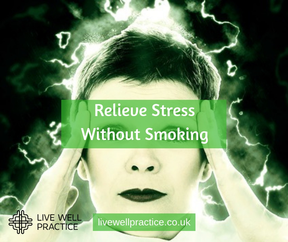 relieve stress without smoking