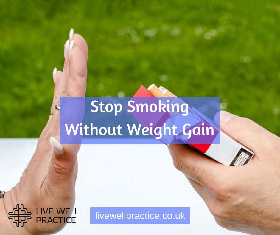 stop smoking without gaining weight