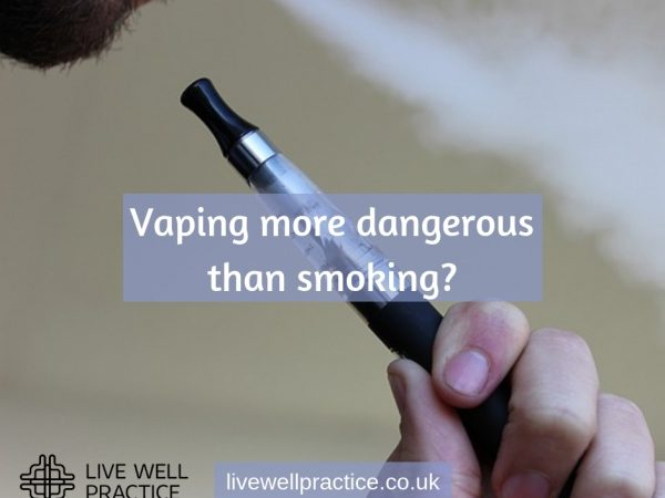 vaping more dangerous than smoking
