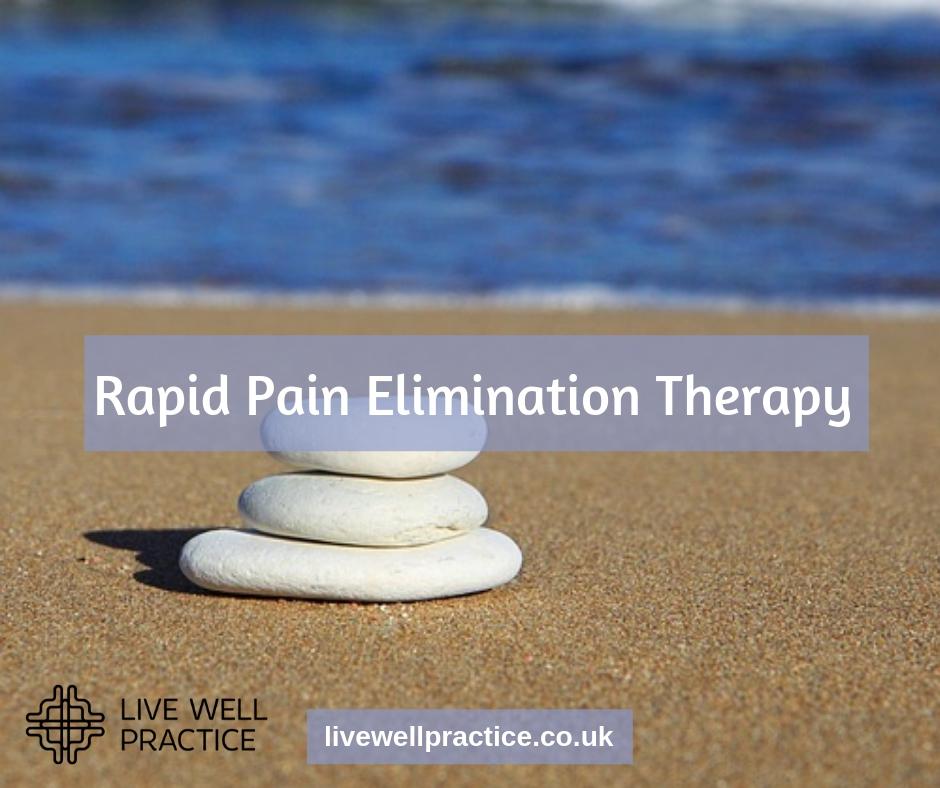 rapid pain elimination