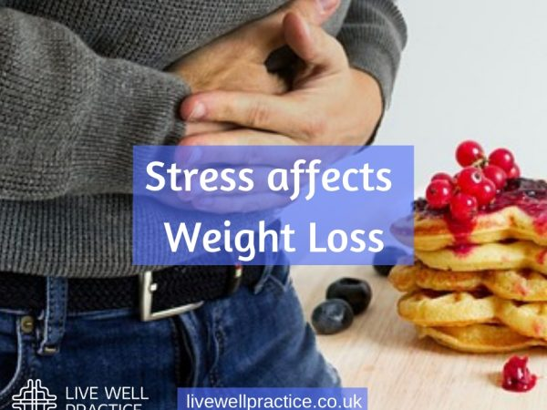 stress affects weight loss