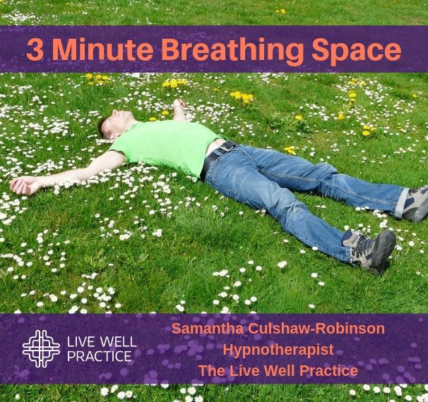 3 Minute Breathing Space Hypnosis