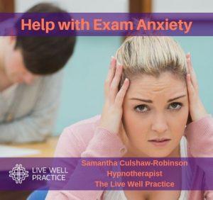 Reduce Exam Anxiety