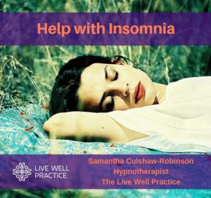 Help with Insomnia