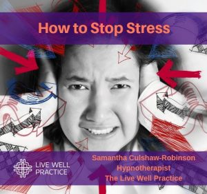 Helping to Stop Stress