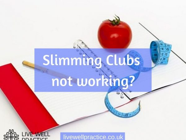 slimming clubs not working?