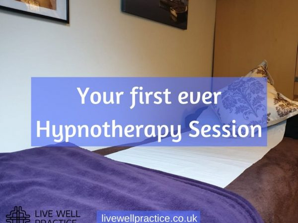 first hypnotherapy session