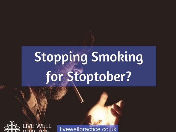 stopping smoking for stoptober