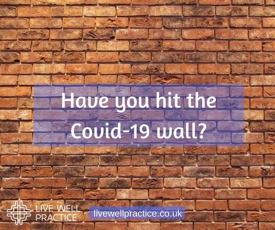 covid-19 pandemic wall